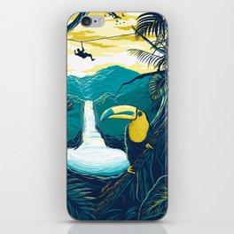 costa rica rainforest iPhone Skin