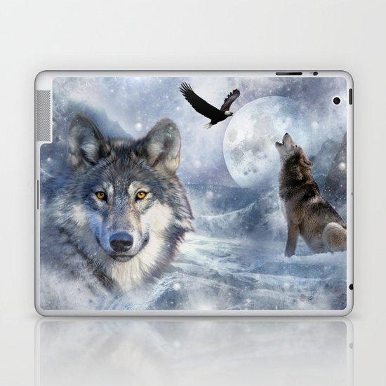Wolves Laptop & iPad Skin
