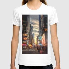 New York City Lights T-shirt