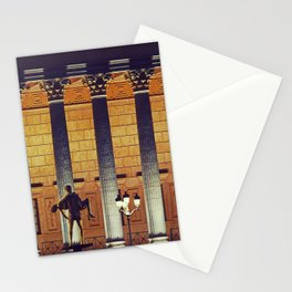 Palais de Justice de Lyon - Night scene - Fine Art Travel Photography Stationery Cards