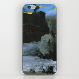 "George Wesley Bellows ""Pennsylvania Station Excavation"" iPhone Skin"