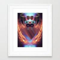 prometheus Framed Art Prints featuring Prometheus. by BUMCHAIII