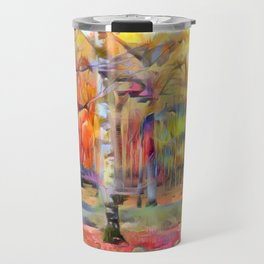 Forest in the Rain Travel Mug