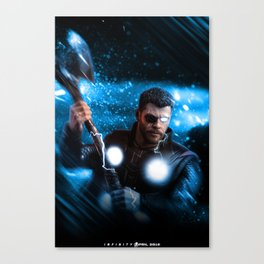 Infinity war ready: Thor Canvas Print