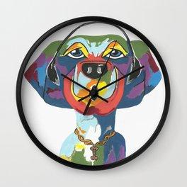 Rapping Rover Wall Clock