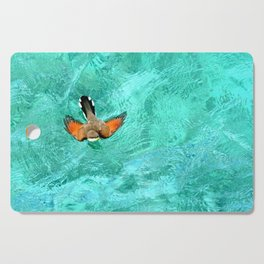 Swimming Bird Cutting Board
