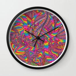 """""""Letz Go Crazy"""" Wall Clock"""