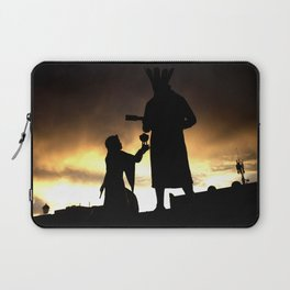 Offering to Earth Laptop Sleeve