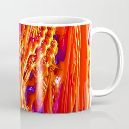 Fractal Fruit Salad! Trippy Fractal Art Coffee Mug