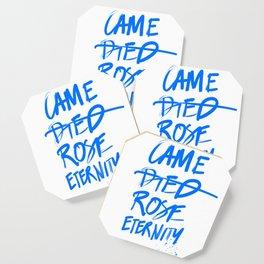 #JESUS2019 - Came Died Rose Eternity (blue) Coaster