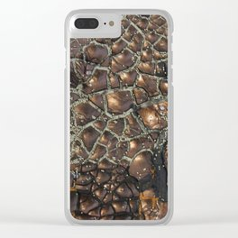 golden Experimentell I Clear iPhone Case