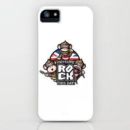United we rock! iPhone Case