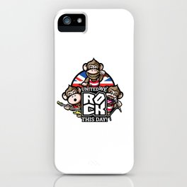 United we rock! iPhone Case