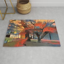Autumn Colors In Kyoto Rug