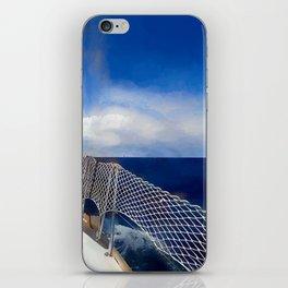 I am sailing iPhone Skin
