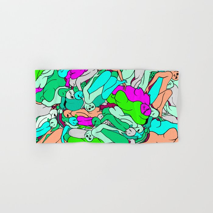 Sleepy Heads - Emerald Green Hand & Bath Towel