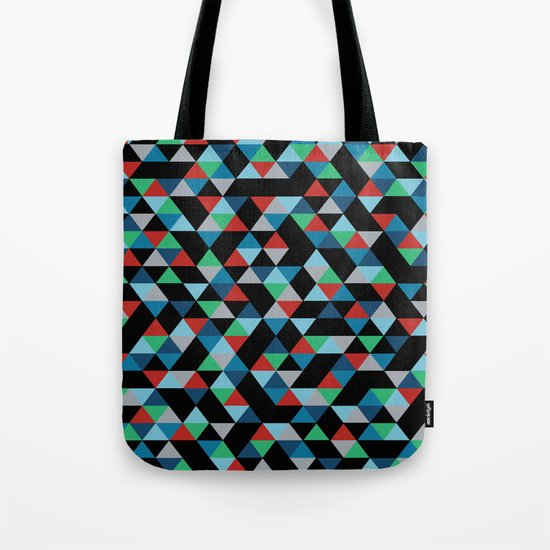Triangles 4B Tote Bag