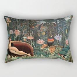 Henri Rousseau - The Dream Rectangular Pillow