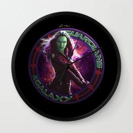 Gamora - Guardians Of The Galaxy Wall Clock