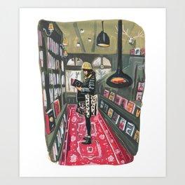 Elizabeth Ames at Inklink Bookstore Art Print