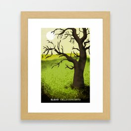 Elgar Cello Concerto Framed Art Print