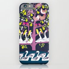 7 Days of Christmas or ∑ summation of holiday birds Slim Case iPhone 6s