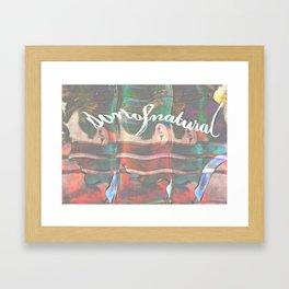 Personal Branding Or Something Framed Art Print