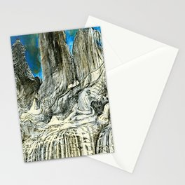 Torres del Paine from Travel Book 2 Stationery Cards