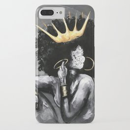 Naturally Queen VI iPhone Case