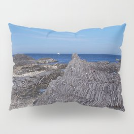 Rock Layers and the Sea Pillow Sham