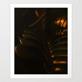 King Dark CatFish - The Chain Art Print