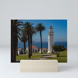 Point Vicente Lighthouse Mini Art Print