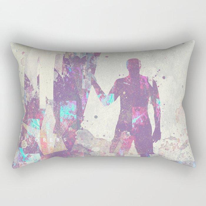 Explorers III Rectangular Pillow