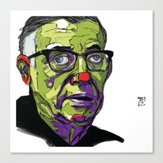 J.P. Sartre Canvas Print