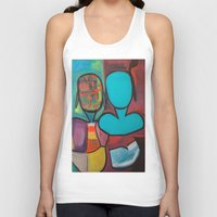 mirror Tank Tops featuring Mirror by MyColorsByCaroStore