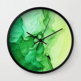Irish Moss Wall Clock