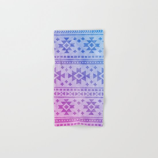 Aztec Pattern 04 Hand & Bath Towel