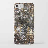 black and gold iPhone & iPod Cases featuring Black Gold by Tyler Resty