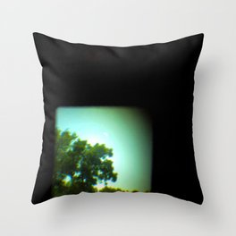 The Space Between Lenses Throw Pillow