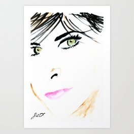 Eyes For You Art Print