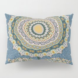 Fabby Flower-Mineral colors Pillow Sham