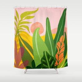 Jungle Morning Shower Curtain