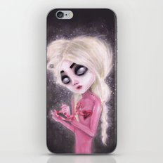 lost forever in a dark space iPhone Skin