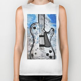 Guitar Art. Featured on back cover of The Music and Art of Black Cat Records. Biker Tank