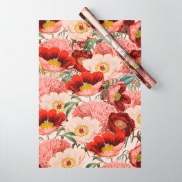 Vintage Garden #society6 Wrapping Paper