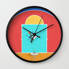 Basketball Is My Favorite Season  Wall Clock