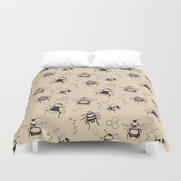 Honeybee Pattern Duvet Cover