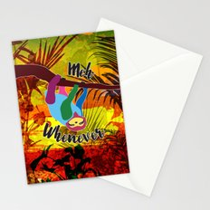 Whenever Sloth Stationery Cards