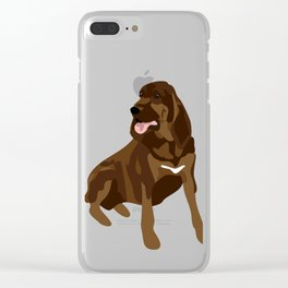 Garbo Clear iPhone Case