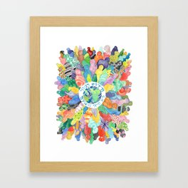 An Insight like me Framed Art Print